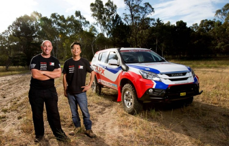 Isuzu MU-X to enter 2015 Dakar Rally