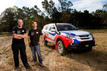 Isuzu MU-X to enter 2015 Dakar Rally