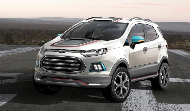 F-150-inspired Ford EcoSport Storm revealed in Brazil
