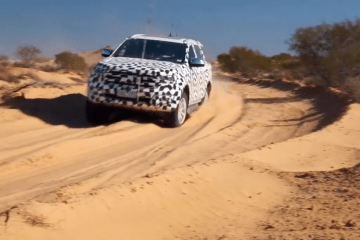 2015 Ford Everest testing