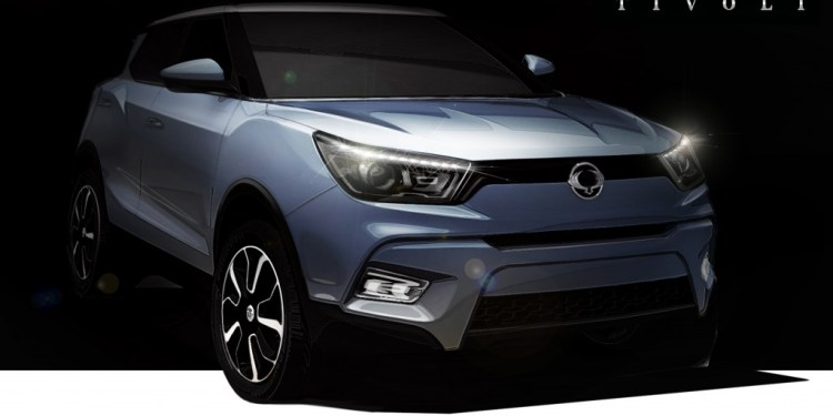 2015 Ssangyong Tivoli revealed
