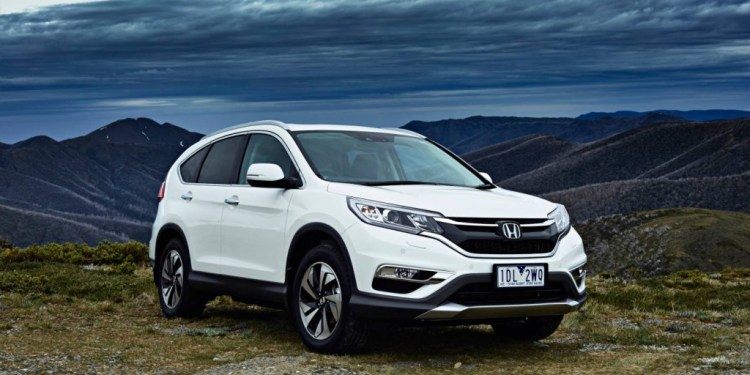 Facelifted 2014 Honda CR-V