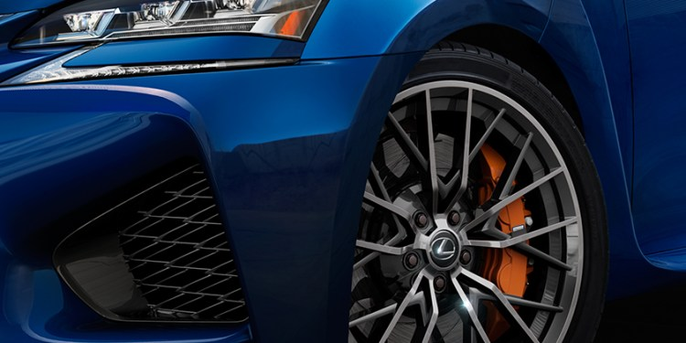 2015 Lexus GS F teased