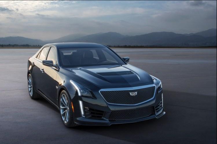 2016 Cadillac CTS-V revealed