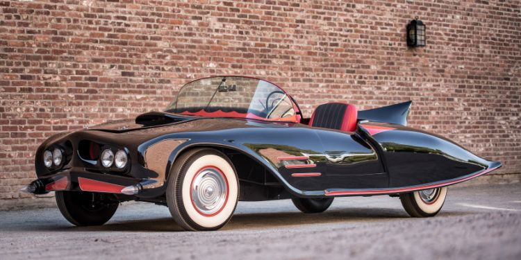 World's first Batmobile for sale