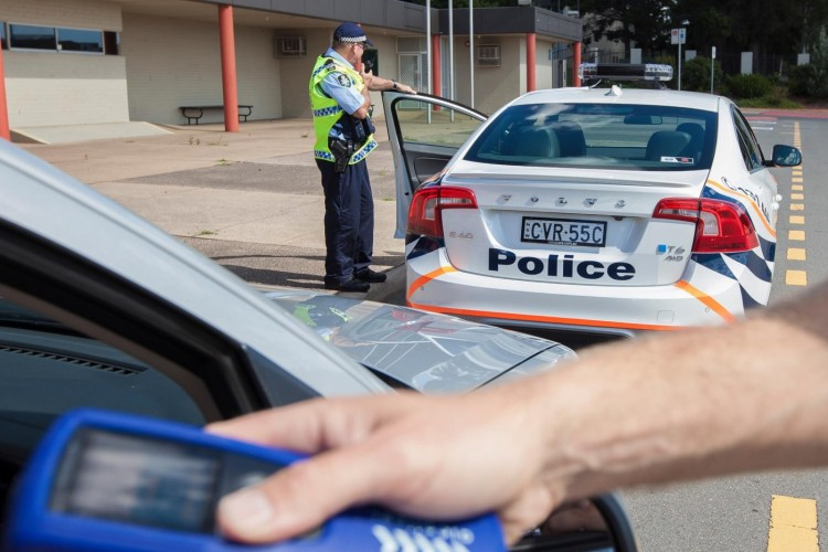 ACT Police trial Volvo S60