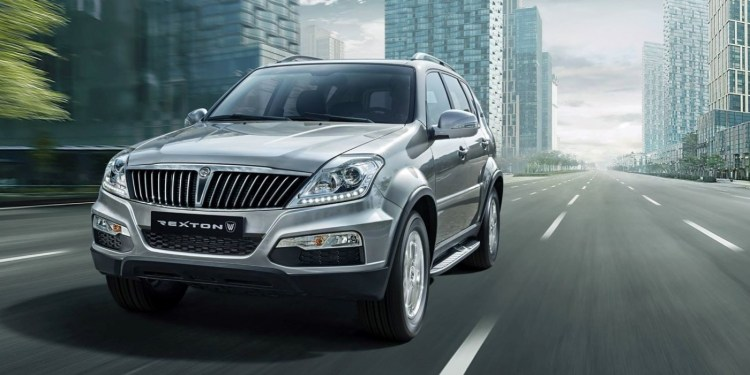 Facelifted 2015 Ssangyong Rexton revealed