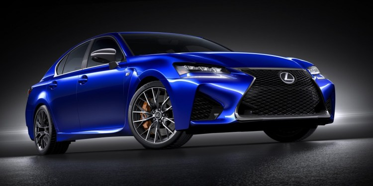 2015 Lexus GS F revealed