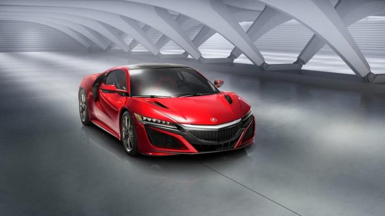 2015 Honda NSX revealed