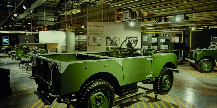 Land Rover opens replica Series I production line