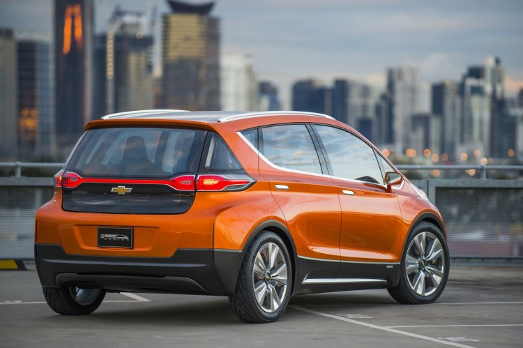 Holden built the Chevrolet Bolt EV concept