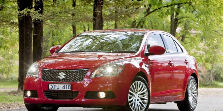 Suzuki Kizashi being recalled in Australia