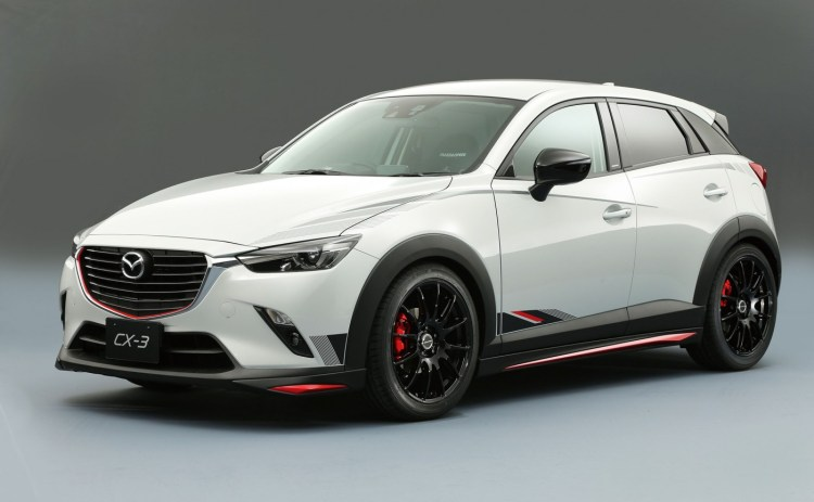 Mazda CX-3 Racing Concept revealed