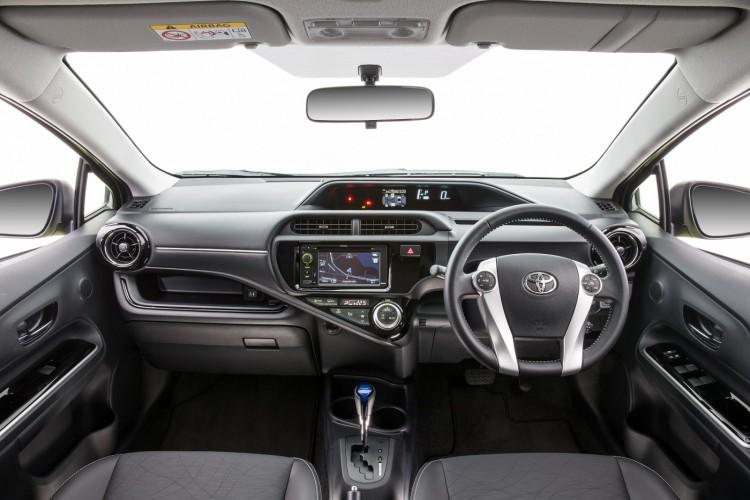 2015 Toyota Prius c facelifted