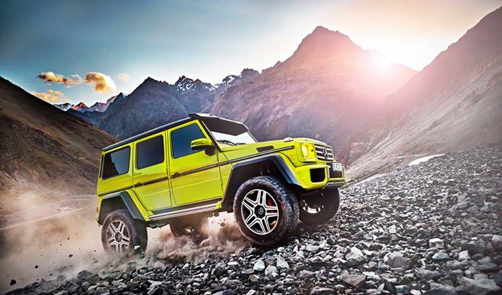 Mercedes-Benz G500 4x4 show car revealed