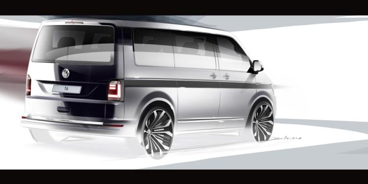 2015 Volkswagen Transporter teased