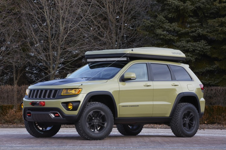 Jeep reveals seven concepts for Easter Jeep Safari