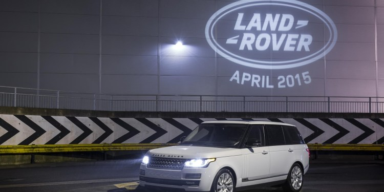 6,000,000th Land Rover rolls off the production line