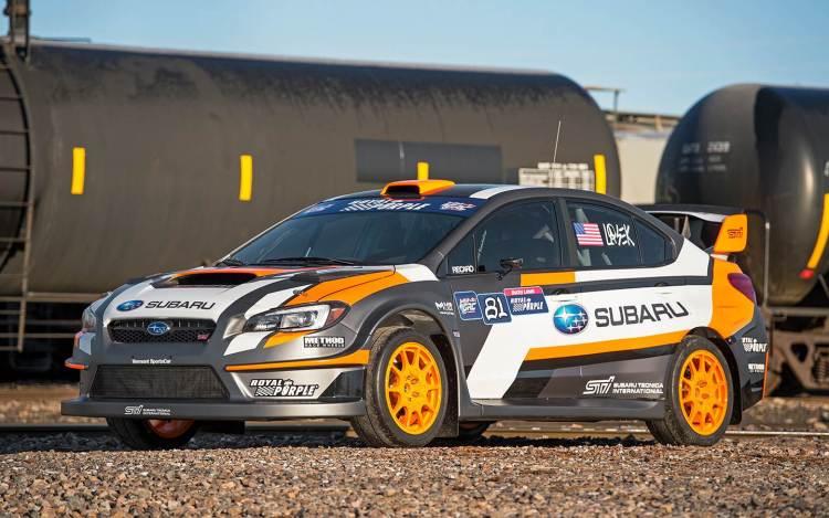 2015 Subaru WRX STI rallycross car revealed with 432kW