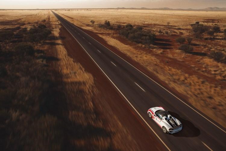 Porsche 918 Spyder hits 350km/h in Outback Australia