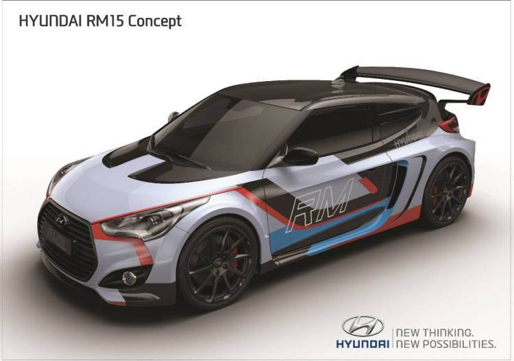 Hyundai RM15 Racing Midship 2015 concept revealed