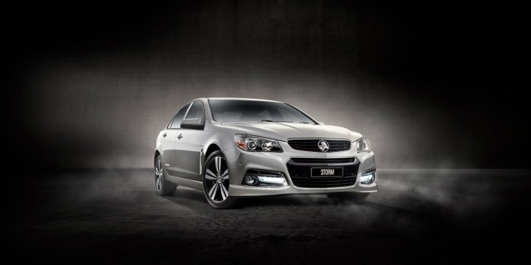 The 2015 Holden Commodore Storm Special Edition
