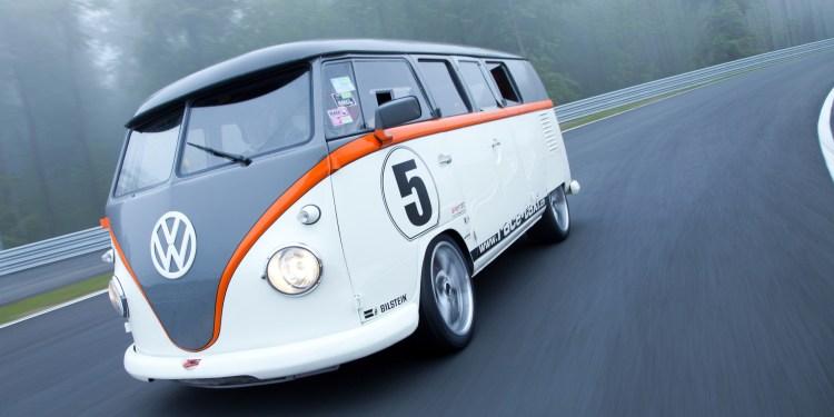 390kW Volkswagen T1 Race Taxi revealed