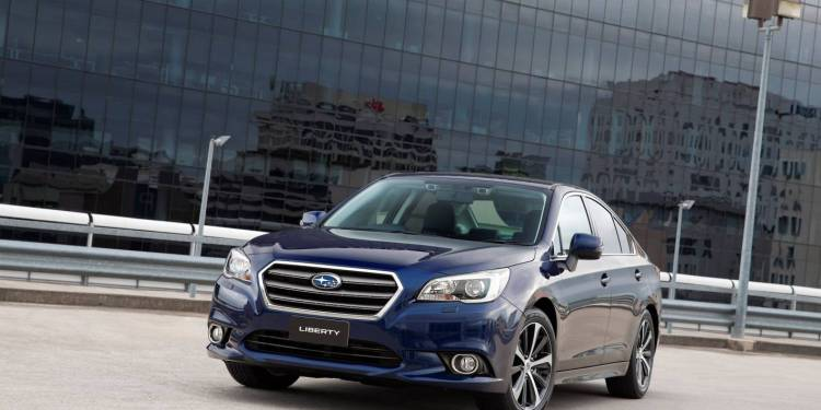 2015 Subaru Liberty 2.5i Premium car review