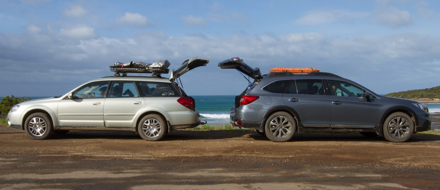 What Time Does Outback Open >> Subaru Outback 2005 vs 2015, 2012 | Practical Motoring