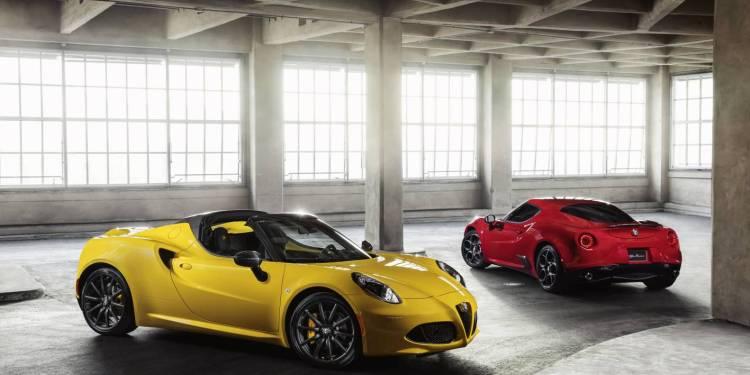 2015 Alfa Romeo 4C Spider to go on-sale in Australia in November