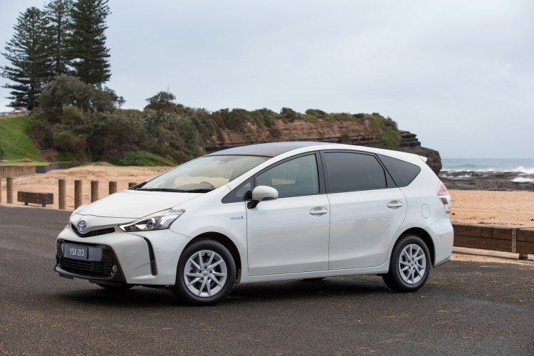 2015 Prius v i-Tech (upgrade)