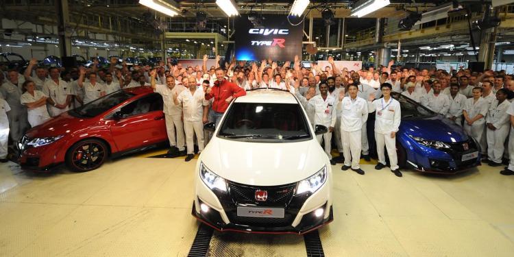 British-built Honda Civic Type R to sell in Japan