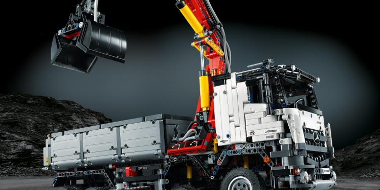 Lego Mercedes-Benz Arocs 3245 revealed - on-sale August 1