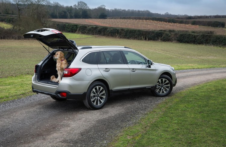 Subaru calls for in-car pet safety
