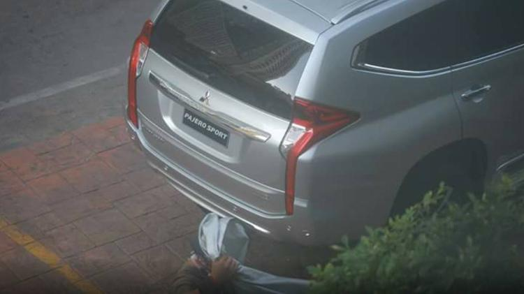 2016 Mitsubishi Challenger spied