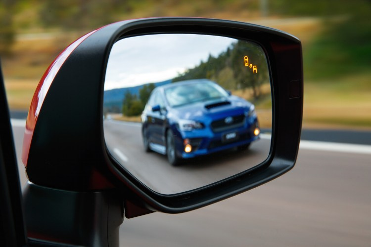 2016 Subaru Wrx Updated With New Safety Technology