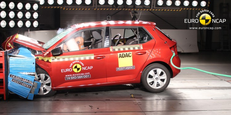 Skoda Fabia scores 5 star ANCAP rating
