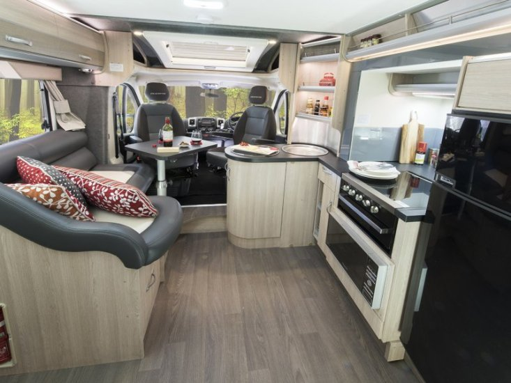 Avida Eyre slide out motorhome revealed