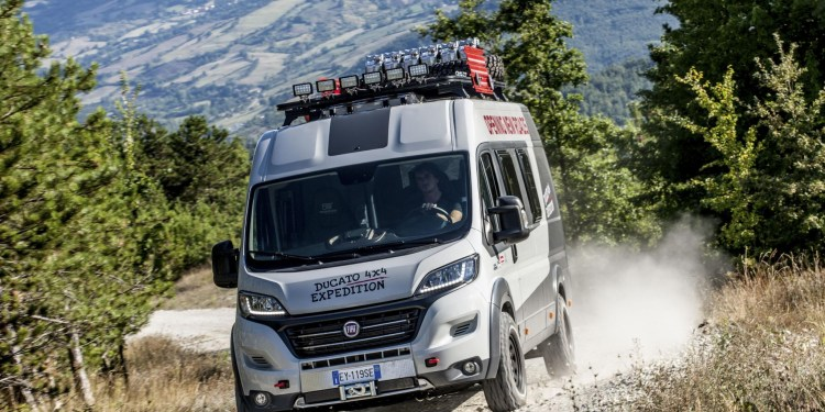 Fiat Ducato 4x4 Expedition revealed