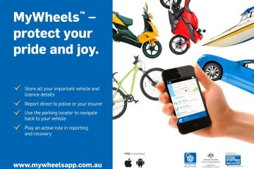 MyWheels car theft app