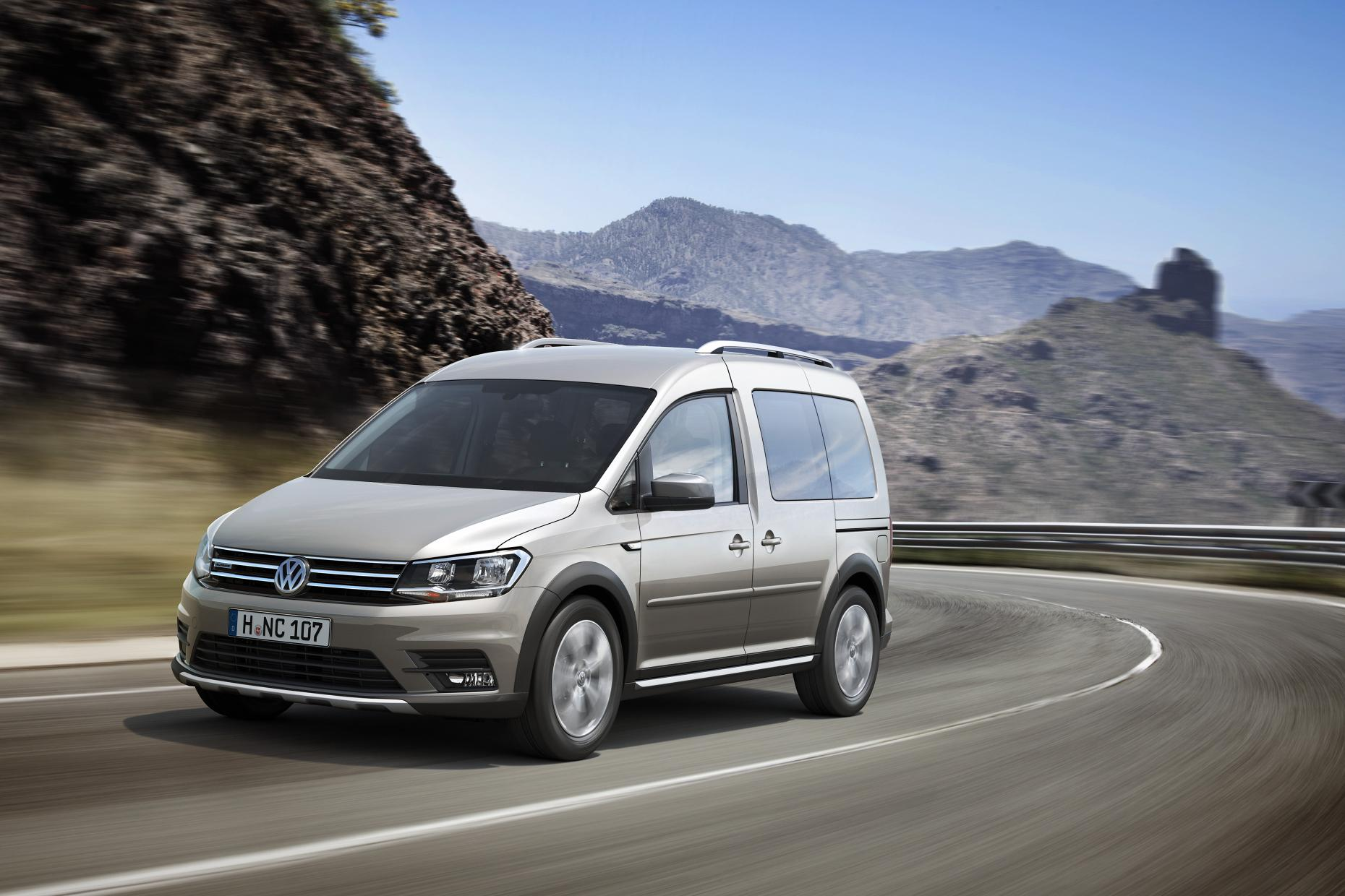2016 volkswagen caddy alltrack revealed practical motoring. Black Bedroom Furniture Sets. Home Design Ideas