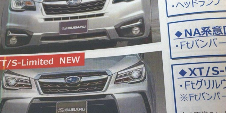 2017 Subaru Forester leaked