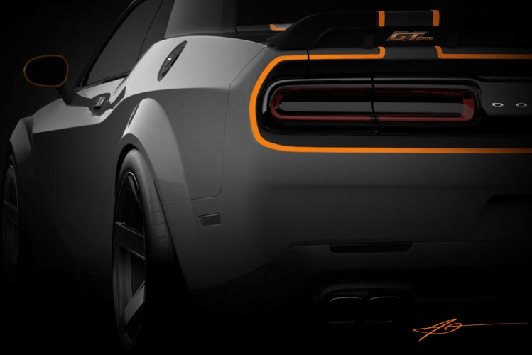 Molar reveals Dodge Challenger GT AWD for SEMA