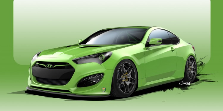 Hyundai TJIN Genesis Coupe revealed