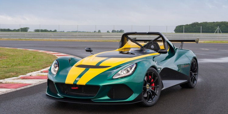 Lotus 3-Eleven at the Nurburgring