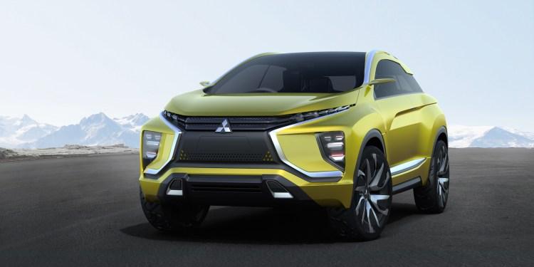 Mitsubishi eX Concept revealed