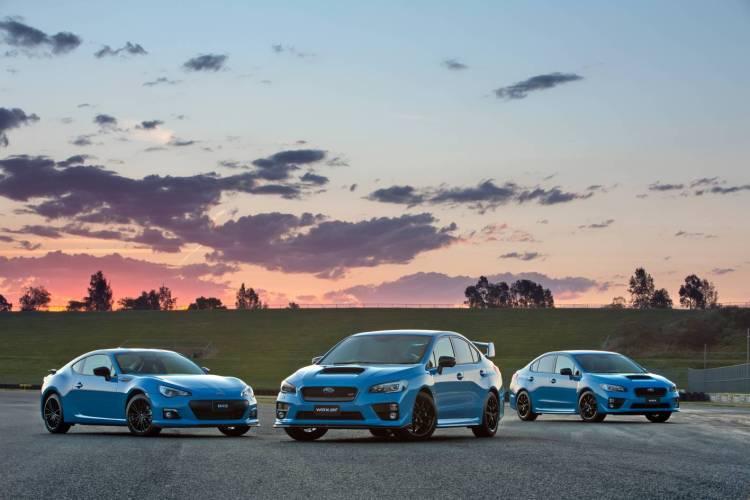 Hyper Blue Subaru WRX revealed