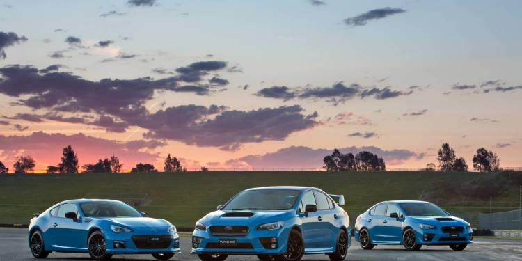 Hyper Blue Subaru WRX revealed