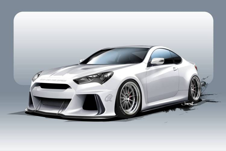 370kW Hyundai Genesis Coupe revealed