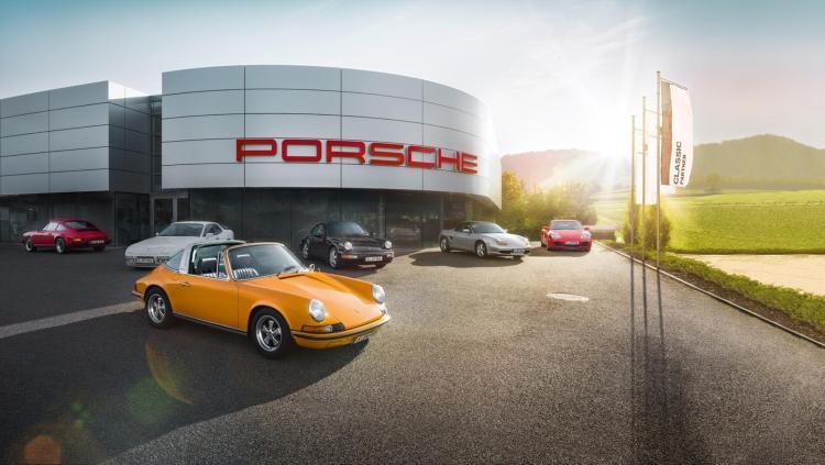 Porsche classic car centre to open in Australia